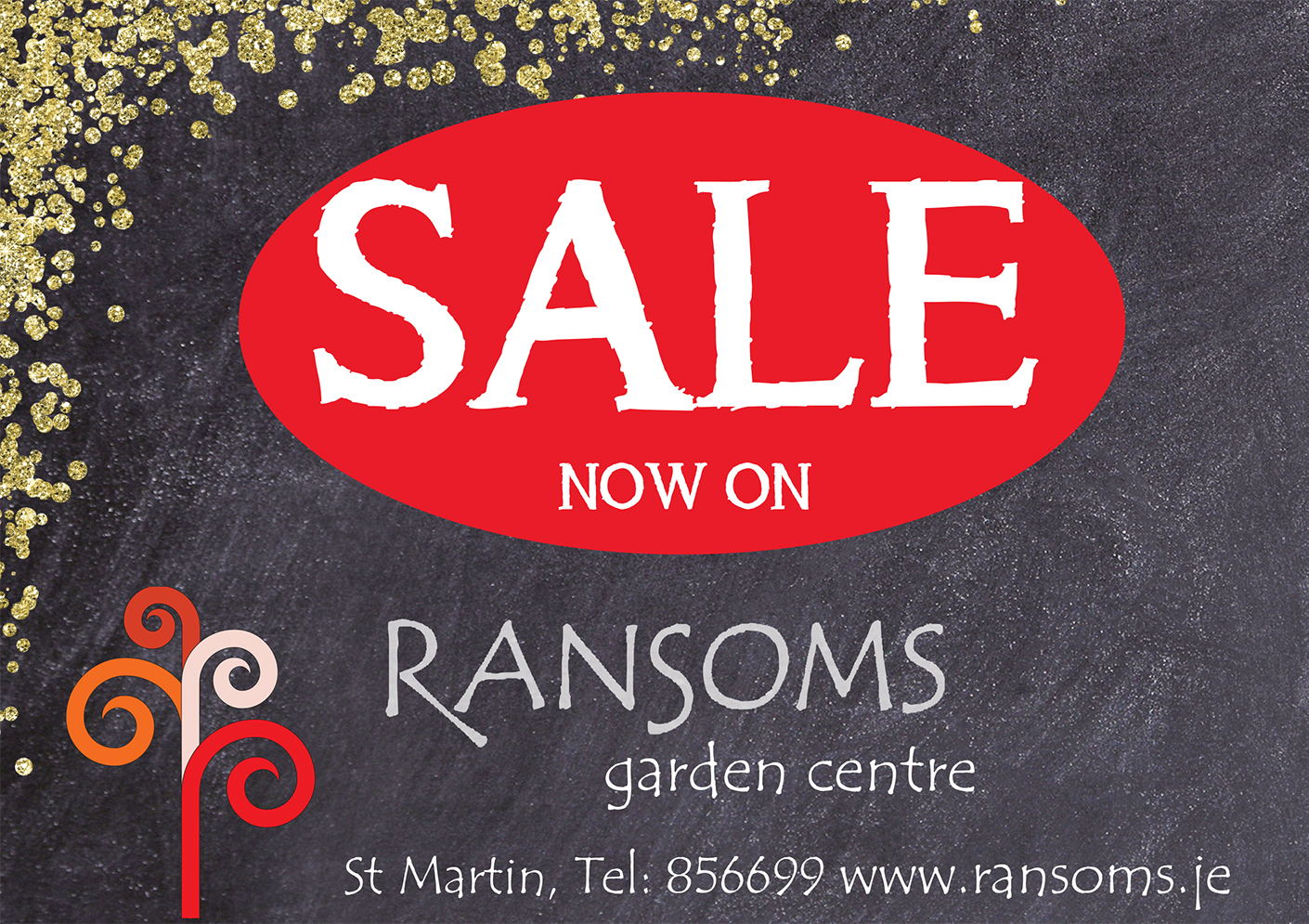 Ransoms Christmas Sale NOW ON!