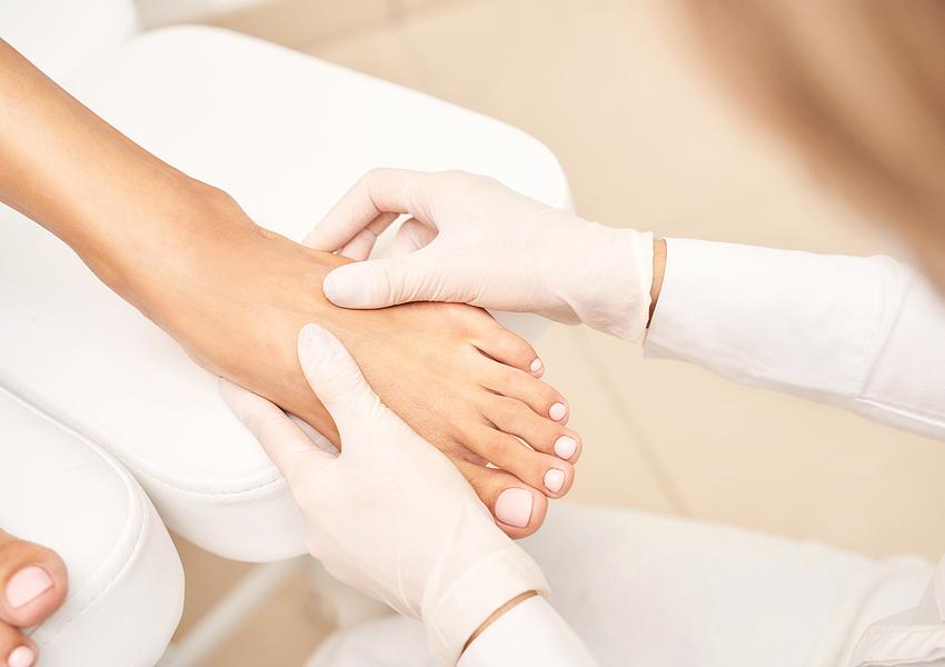 Just 4 U Beauty and Nail Bar Elim MediHeel Pedicure Special