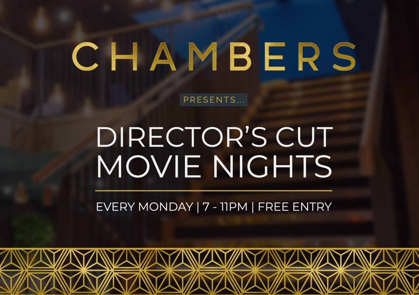 Director's Cut Movie Night