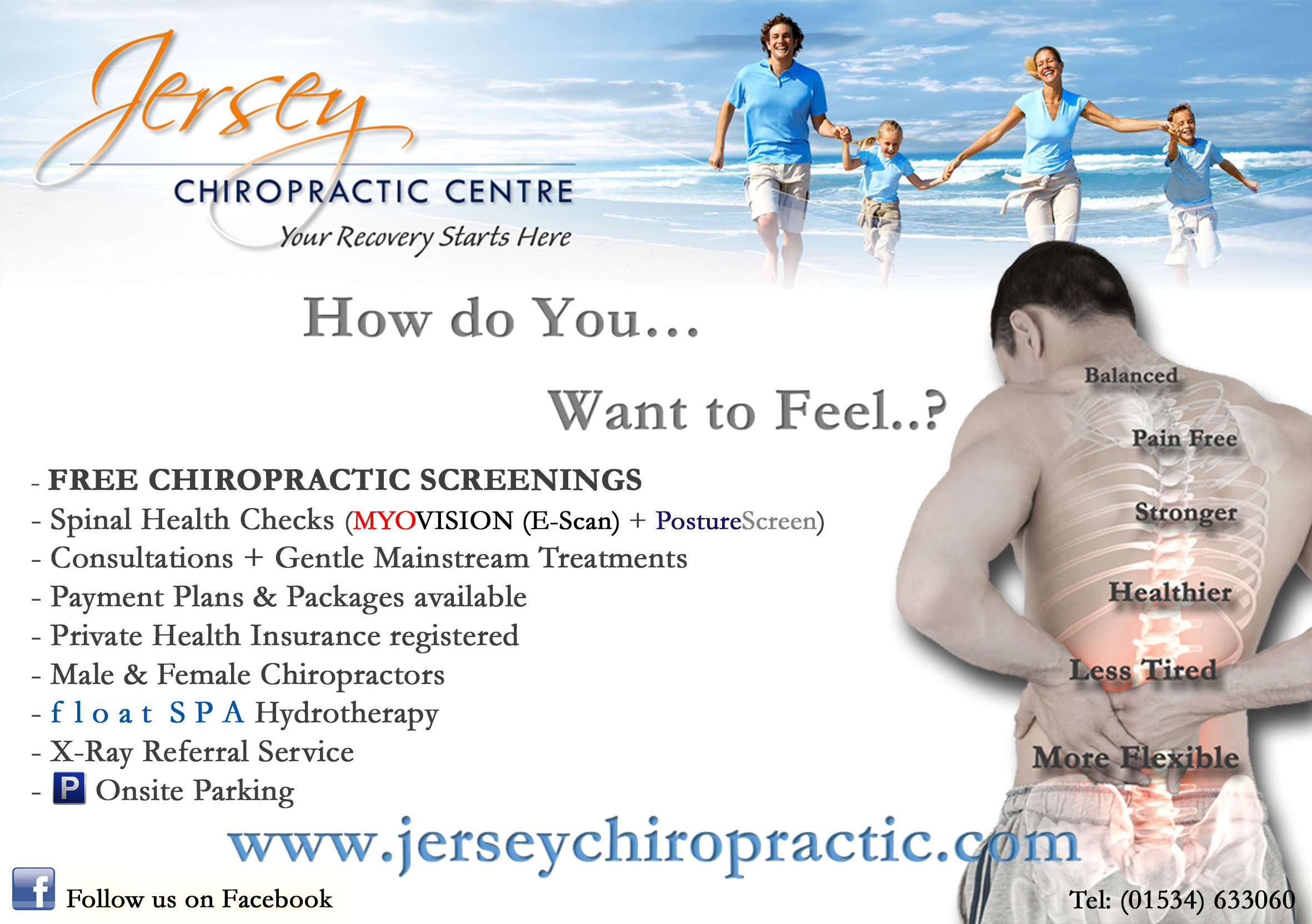 JERSEY CHIROPRACTIC CENTRE