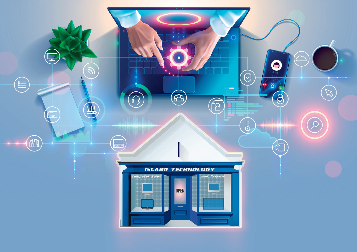 Your One Stop Tech Shop - Island Technology