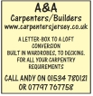 A & A Carpenters/Builders