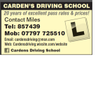 Cardens Driving School