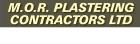 M.O.R.Plastering Contractors Ltd