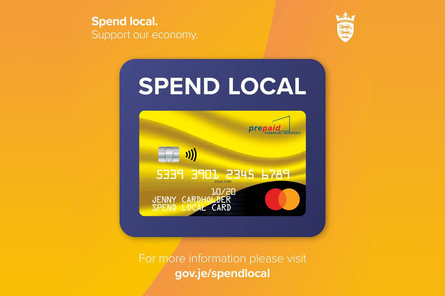 Jersey £100 Spend Local Card