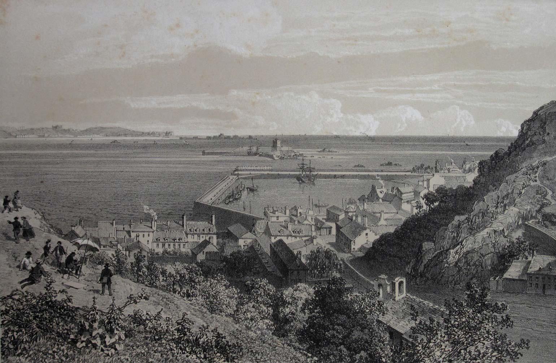 St Aubin, Jersey 1870