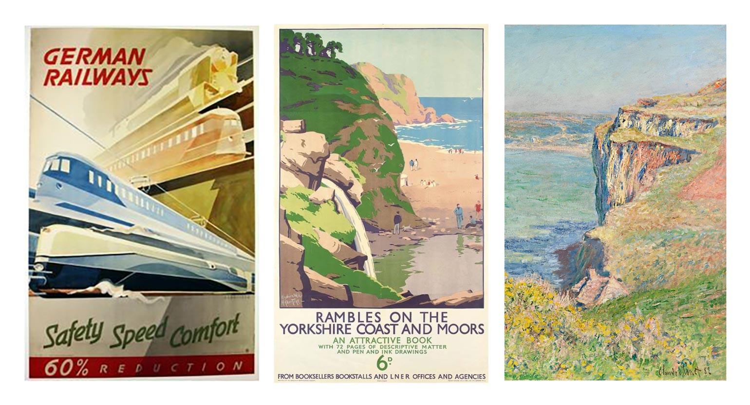 Ron Mills Jersey Travel Poster Series Influences