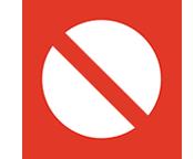 Jersey Beach Prohibited Beach Sign